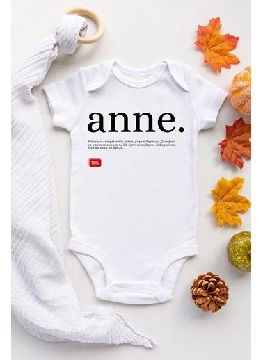 Happy Onesie Co Anne TDK Kısa Kol Çıtçıtlı Body Beyaz
